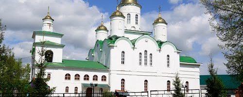 Владыка Николай совершил вечерню и чин 3-й Пассии с акафистом Божественным Страстям Христовым в  г. Ишимбае