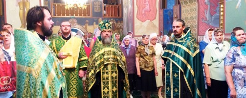 Всенощное бдение накануне праздника Троицы