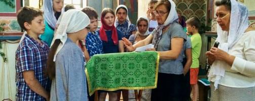 22 завершился II православный детско-юношеский трудовой лагерь