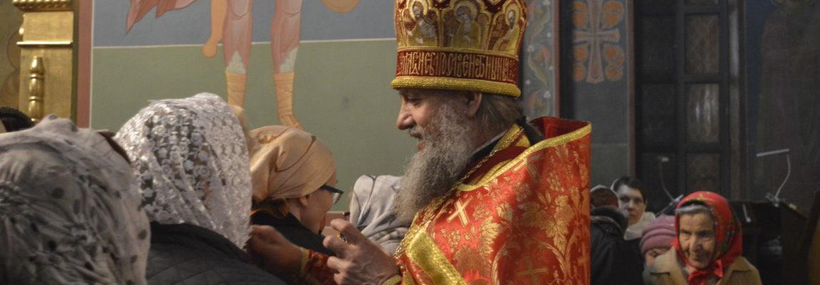 Поздравление с Воскресением Христовым прихожанам Свято-Троицкого храма