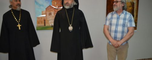 В Ишимбае открылась выставка картин священника Хасанова о.Рафаила