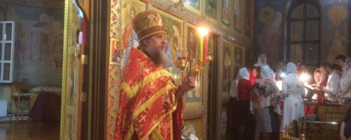 Светлое Христово Воскресение в Свято-Троицком храме