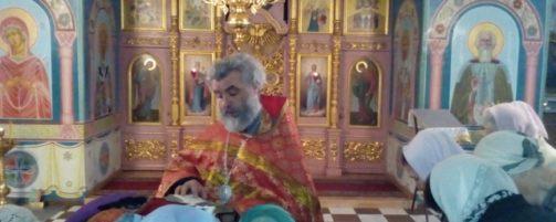 Епископ Салаватский и Кумертауский Николай совершил молебное пение в Свято-Троицком храме