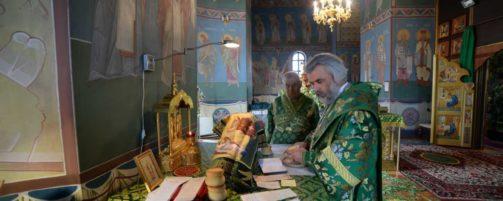 Престольный праздник в Свято-Троицком храме