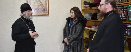 В Ишимбае состоялось открытие социально-гуманитарного склада имени Святого Праведного Иоанна Кронштадтского