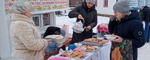 В Свято-Троицком храме отметили праздник Святителя Николая Чудотворца с «Николиной кашей»