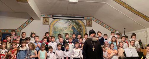 Рождественские утренники прошли в Воскресной школе